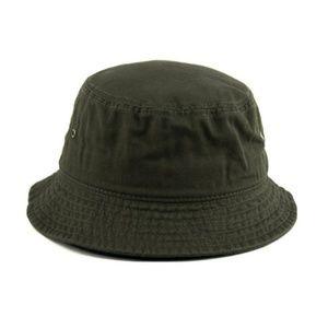 Other - Unisex Dark Olive Bucket Fishing Hat
